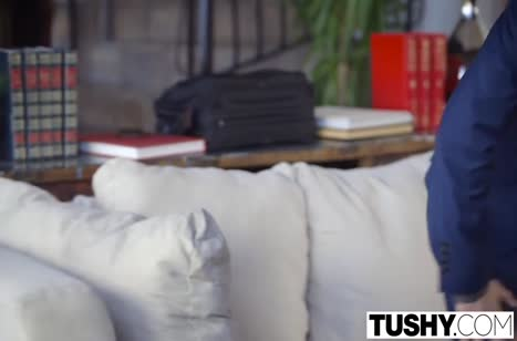 Молодая любовница Тейлор Сэндс кайфует от секса в попу №3