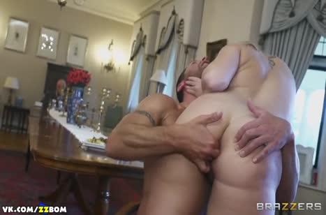 Paige Turnah изменяет старому мужу с крепким дворецким №5